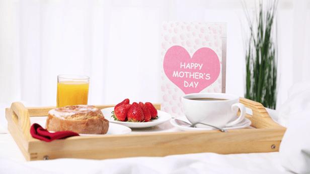 ontbijt op bed moederdag