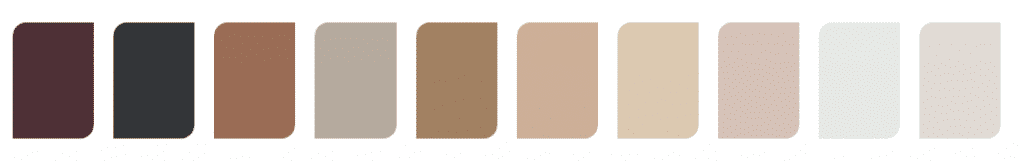 Kleurtrend 2019 kleurenpalet