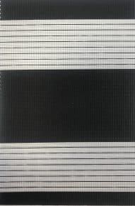 zwart mat duo rolgordijnen