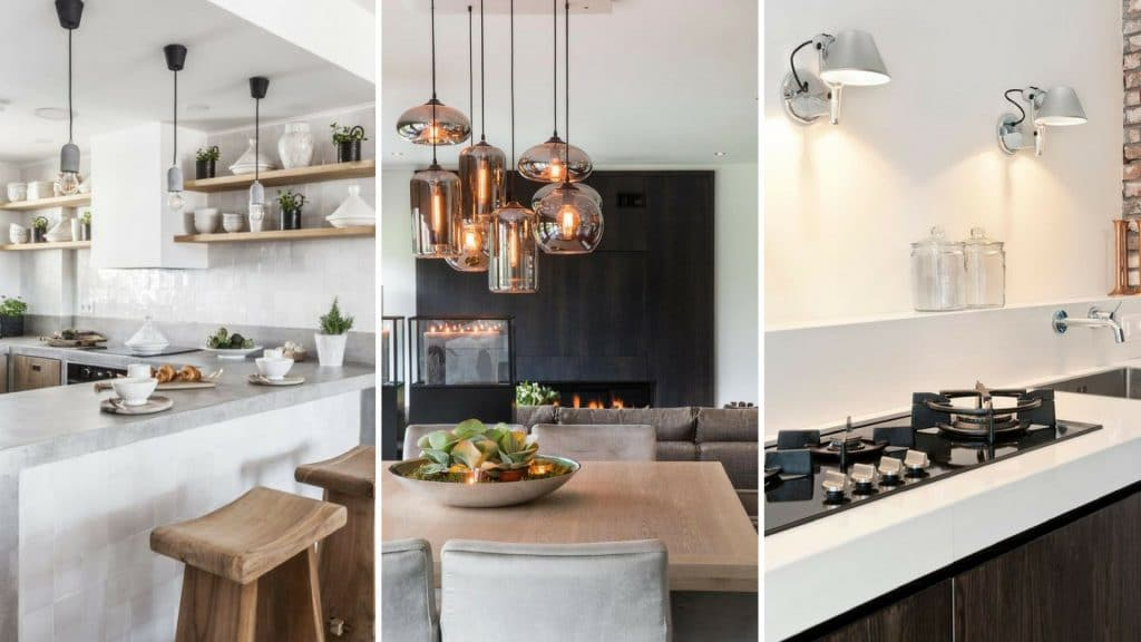 stijlvolle keuken lampen