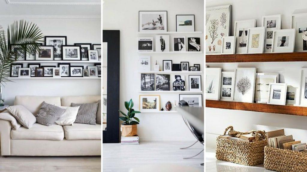 Fotowand planken