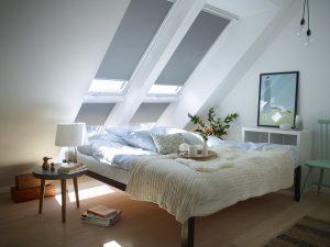 Velux dakraam rolgordijn voor de slaapkamer