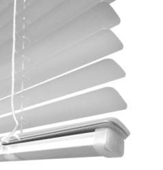 25mm jaloezie wit onderlat Luxaflex