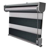duorolgordijn montageprofiel grijs aluminium