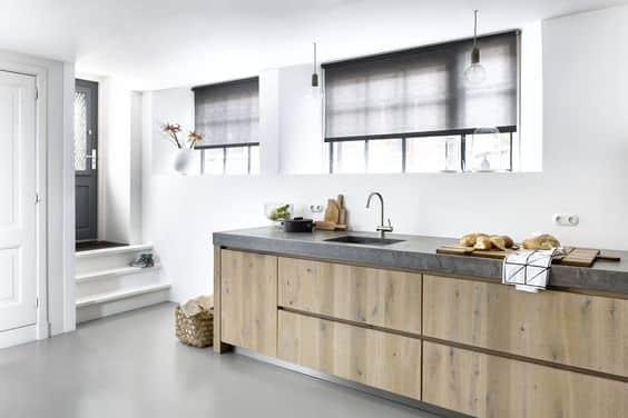 raamdecoratie keuken