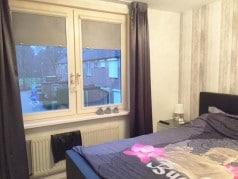 foto slaapkamer met perfect fit rolgordijnen