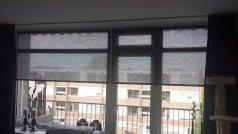 ingezonden foto transparant rolgordijn zwart