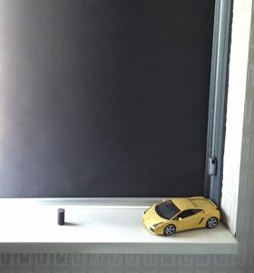 rolgordijn kinderkamer verduisterend zwart
