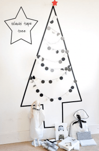 washitape kerstboom